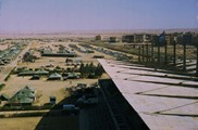 U.N. Camp at Race Track in Cairo, January 1974.